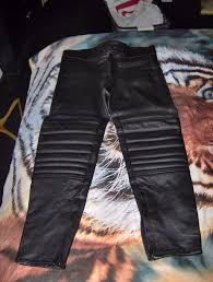 motorbike trousers mens pair of proto leather motorbike trousers in spennymoor