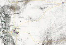 Colorado Front Range Map Nasa Satellite Captures Stunning Imagery Of A White Landscape In
