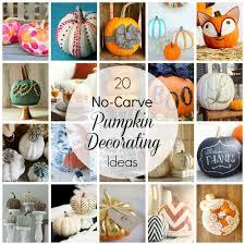 The Best Pumpkin Decorating Ideas No Carve Pumpkin Decorating Ideas