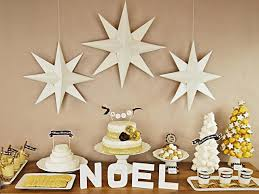 Decoration For Christmas Handmade by How To Make Christmas Paper Star Decorations Hgtv