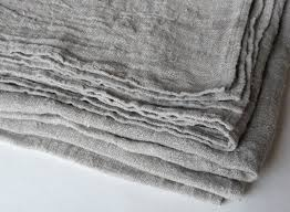 peasant style linen burlap tablecloth natural gray ecru