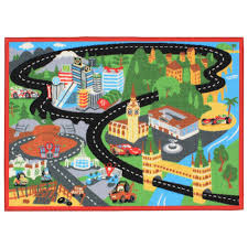 disney cars 2 pit stop interactive game rug
