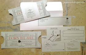 ticket wedding invitations template ticket wedding invitation template