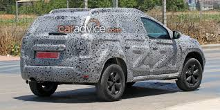 renault duster 2018 2018 dacia duster spied photos 1 of 14