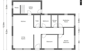 simple house floor plans with measurements simple floor plans for houses inspiration house plans 69049
