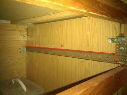self closing cabinet drawer slides bottom mount drawer slides lowes improvements kitchen cabinet drawer