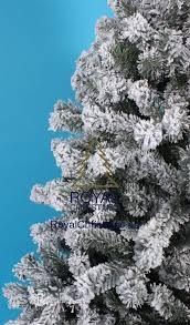 sapin de noel artificiel plus vrai que nature neige sapin de noël artificiel promo frosted pine modèle plus
