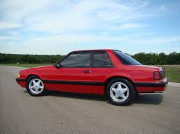 mustang pony wheels 1991 ford mustang fox coupe with silver pony wheels a photo