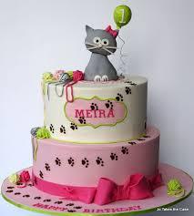 Birthday Cake Ideas cat birthday cake First Kitty Cat