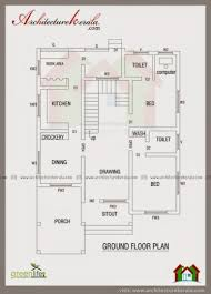 House Plans 1200 Square Feet Marvelous 1600 Square Feet Four Bed Room House Plan Architecture