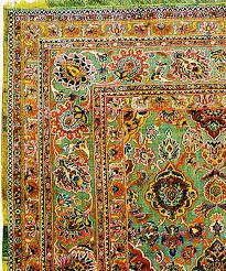 Fine Persian Rugs Lot 172 Fine Silk And Metallic Thread Persian Souf Kashan Carpet