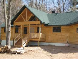 minnesota and wisconsin log cabin builders