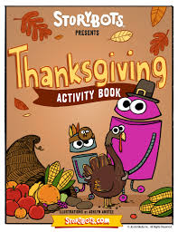 celebrate thanksgiving with the storybots storybots