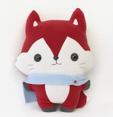 pattern fox plush toy from signetveitan on etsy studio