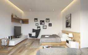 fascinating bed in living room pictures best idea home design