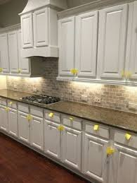 travertine kitchen backsplash a wall subway patterned silver travertine backsplash is
