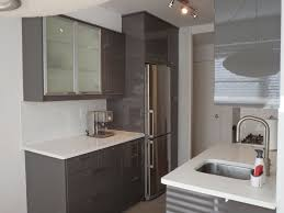 grey kitchen walls with white cabinets white metal spray paint