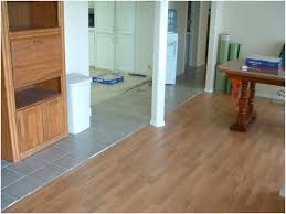 where laminate meets up to ceramic tile installation