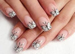 35 best nail designs black and white images on pinterest make