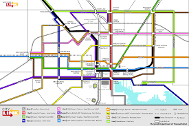Mta Metro North Map by Mta To Hold 20 Workshops On Baltimorelink Bus Routes Baltimore Sun