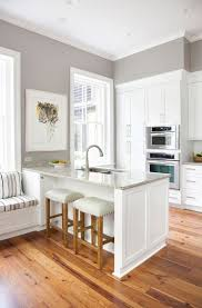 kitchen painted gray with white cabinets sherwin williams gray versus greige home decor kitchen paint
