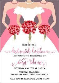 bridesmaid luncheon invitations best 25 bridal luncheon invitations ideas on wedding