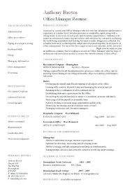 Office Manager Sample Resume Sample Dental Office Manager Resume Dental Office Manager Resume
