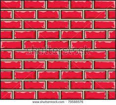 Pink Brick Wall Cartoon Brick Wall Stock Images Royalty Free Images U0026 Vectors