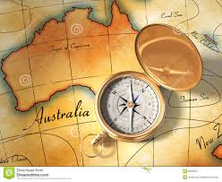 Map Compass Old Map And Compass Stock Photography Image 9963612