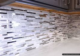Modern White Marble Glass Metal Kitchen Backsplash Tile - Metal backsplash