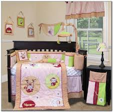 Monkey Crib Bedding Sets Monkey Crib Bedding For Babies Beds Home Design Ideas