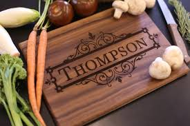 engraved wedding gift personalized cutting board christmas gift bridal shower gift
