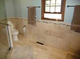 Travertine Bathrooms Splendid Travertine Tiles For Bathroom Painting Curtain By