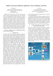 quality assurance for big data applications u2013 issues challenges