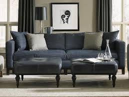 Navy Blue Leather Sofas by Nice Navy Leather Sofa With Monroe Mid Century Leather Sofa 80