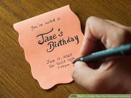 create your own invitations 3 ways to create your own birthday invitations wikihow
