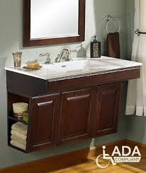 Wall Mounted Bathroom Cabinet Cabinets And Hardware Ada Compliant Wall Mounted Bathroom