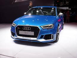 audi rs3 blue 2018 audi rs3 sedan coming to u s with 400 horsepower kelley