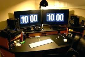 computer desk monitor lift computer desk monitor lift desk multiple monitor computer desk