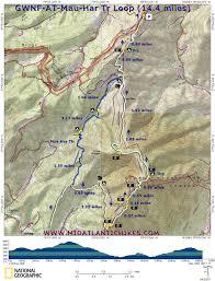 Appalachian Trail Map Virginia by Gwnf At Mauhar2 W Jpg