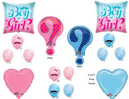 baby shower balloons question gender reveal boy girl baby shower balloons