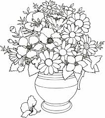 coloring pictures of flowers coloring234