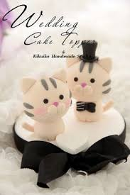 cat wedding cake toppers https s media cache ak0 pinimg 236x 70 4a 41