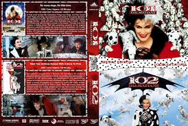 101 102 dalmatians double feature dvd cover 1996 2000 r1 custom v2