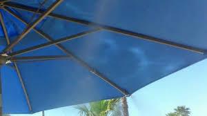 Portable Patio Umbrella by Umbrella Misting System By Ar Blue Mist Youtube