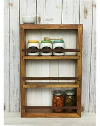 Wooden Spice Rack Wall Fall Into Savings On Spice Rack Wall Cabinet Essential Oil Shelf