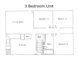 3 Bedroom House Maps Designs India Nrtradiant Com