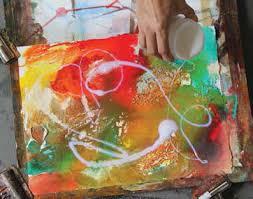 mixed media painting techniques make mixed media art