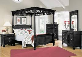 bedroom compact black bedroom furniture wall color terra cotta