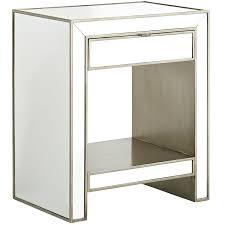 alexa mirrored nightstand pier 1 imports